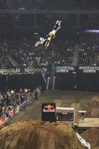 Libor Podmol bei der Nigth of the Jumps 2010.  Foto: Oliver Franke / IFMXF.com