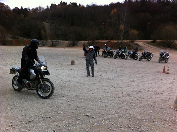 BMW Coolest Job im Enduro Park in Hechlingen.