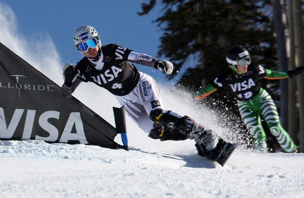 LG Snowboard FIS World Cup: Snowboard Cross.  Foto:  FIS/Oliver Kraus