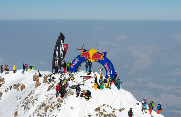 Scott Big Mountain Freeride Contest.  Foto: Michael Meisl
