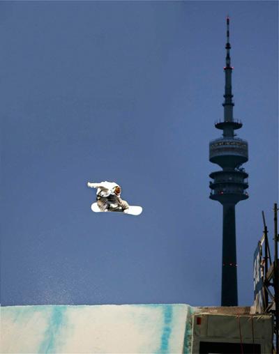 Air & Style zurück in München.  Foto: Veranstalter