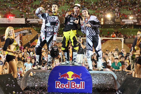 Night of the Jumps in Fortaleza 2010.  Foto:  Oliver Franke / IFMXF.com