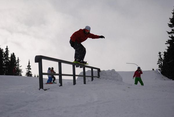 Snowpark Opening auf der Weinebene.  Foto: Veranstalter