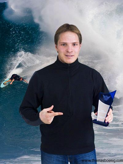Sebastian Steudtner ist Surfer des Jahres
