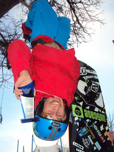 Florian Gruber ist Kitesurfer des Jahres 2010