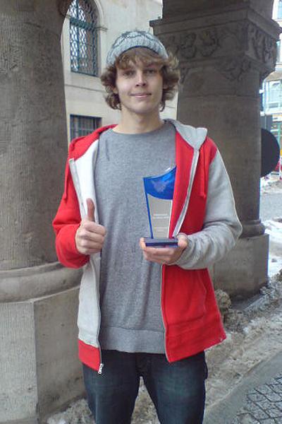 homas Weber ist Skateboarder des Jahres 2010