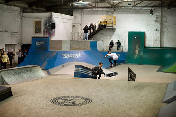 New Kids on the Block 2010 in der berliner Skatehalle.  Foto: Adam Sello