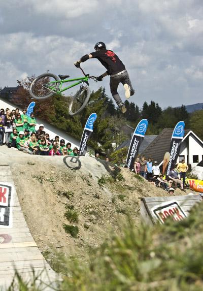 Slopestyle Contest beim iXS Dirt Masters Festival.  Foto: Veranstalter