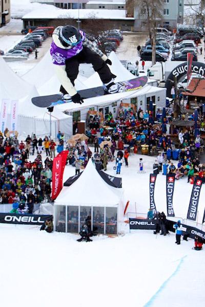 ONeill Evolution Halfpipe Finale 2011.  Foto: Veranstalter