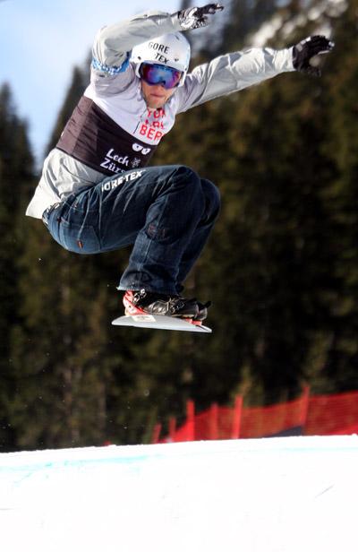 Konstantin Schad in Action.  Foto: FIS/Oliver Kraus