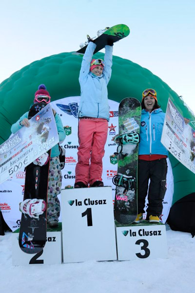 Freeride World Tour 2011 in La Clusaz.  Foto: Pascal Lebeau