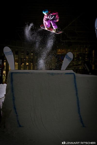 Chill and Destroy Snowboard Tourstopp in der Snowworld 2011.  Foto: Lennart Ritscher