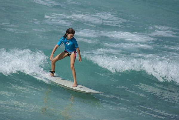 Die elfjährige Lilly aus Hamburg.  Foto: Treuenfels