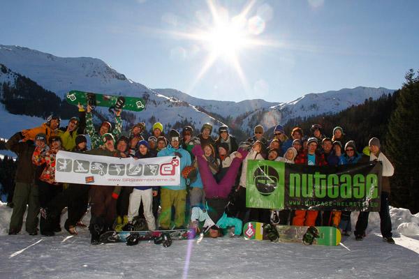 SRSteamextreme Snowboard Camp Saalbach Hintergklemm 2011.  Foto: Veranstalter