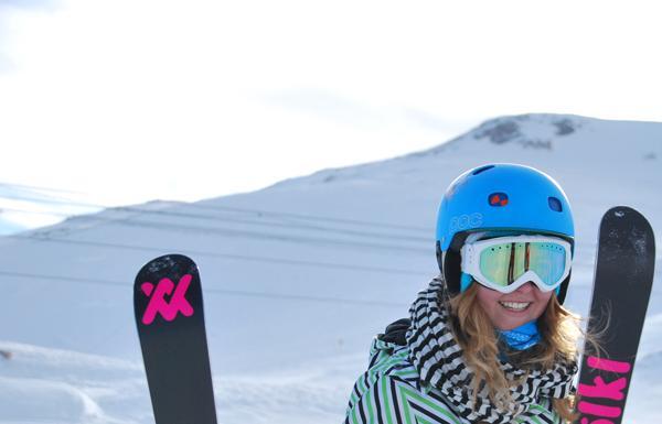 Young Blood Girlie Camp auf der Zugspitze 2011.  Foto: Nadine Seuß