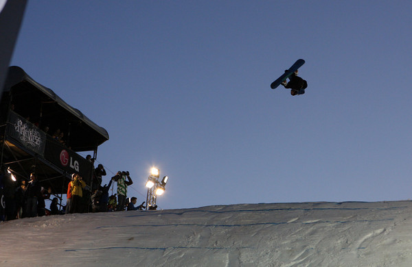 Marko Grilch: backside 1080 double cork.   Foto: FIS/Oliver Kraus