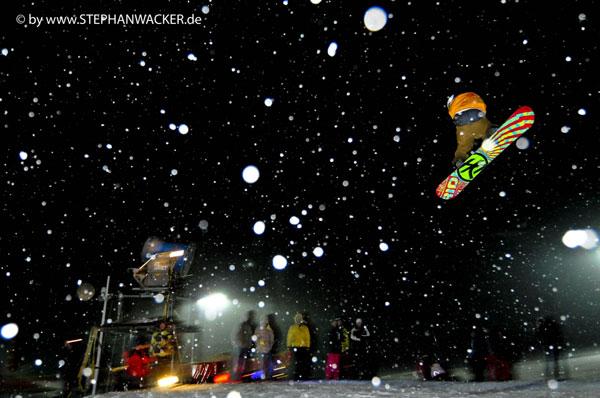 Rider bei Rock on Snow 2009.  Foto: Stephan Wacker