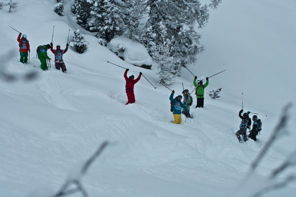 Foto: The North Face Ski Challenge.  Foto: The North Face Ski Challenge