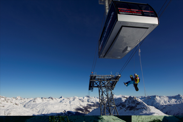 Freeride Engadin St. Moritz 2011.  Foto: C. Margot