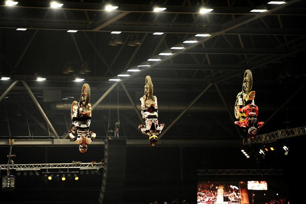 Action beim Kings of Extreme 2011 in Leipzig.  Foto: Petipix.de