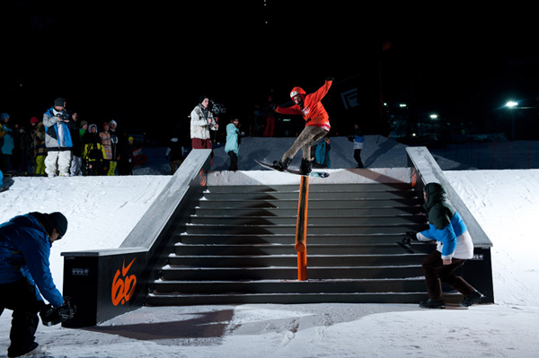 Stairset Battle im Skigebiet Kronplatz.  Foto: Veranstalter