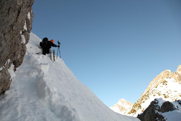 Martin Fiala und das Projekt Hornbachkette.  Foto: Toni Brey