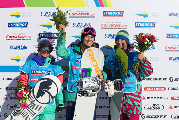 Podium Ladies.  Foto: Marc Weiler