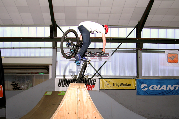 Anton Thelander in Aurich.  Foto: Stephan Peters