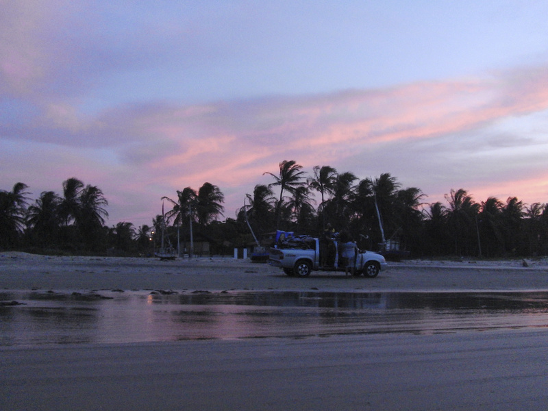 Kitereise Brasilien.