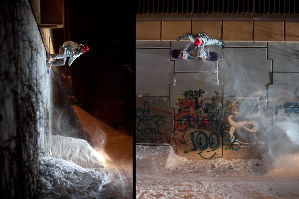 Siegerfoto bei den Snowboardern.  Foto: Adam Chrabaszcz