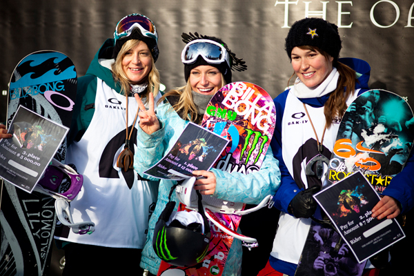 Podium Ladies.  Foto: Olav Stubberud