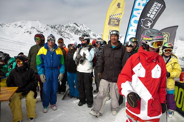 Snow-Action im Swatch Snowpark Sölden.  Foto: byRudi Wyhlidal/QParks