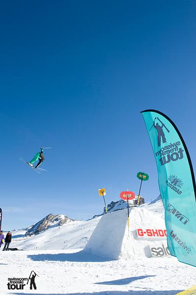 Swisscom Freeski Tour 2011.  Foto: Angelo Brack