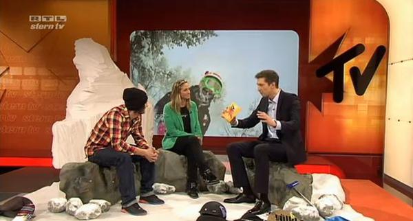 Sebastian Hannemann bei stern.tv