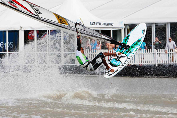 Surf World Cup Podersdorf.  Foto: PWA John Carter