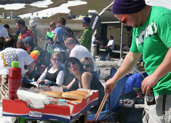 Longboard Classics: Das Woodstock des Snowboardens.  Foto: Kone Heigl