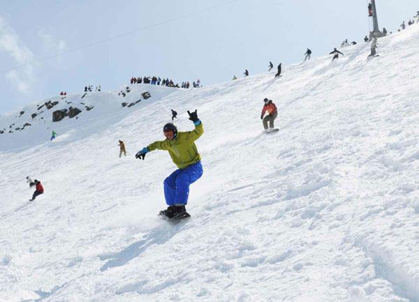 Longboard Classics: Das Woodstock des Snowboardens.  Foto: R. Schopper
