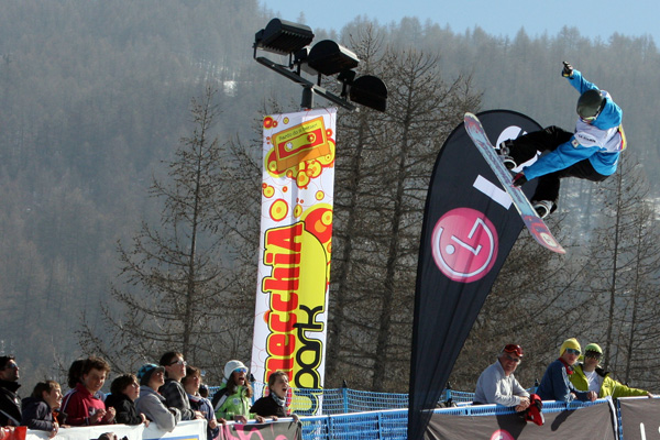 Holly Crawford in Bardonecchia.  Foto: FIS/Oliver Kraus