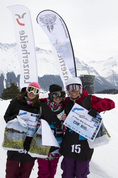 Freestyle Madness 2011 im Snowpark Lenzerheide.  Foto: Sebi Madlener /QParks