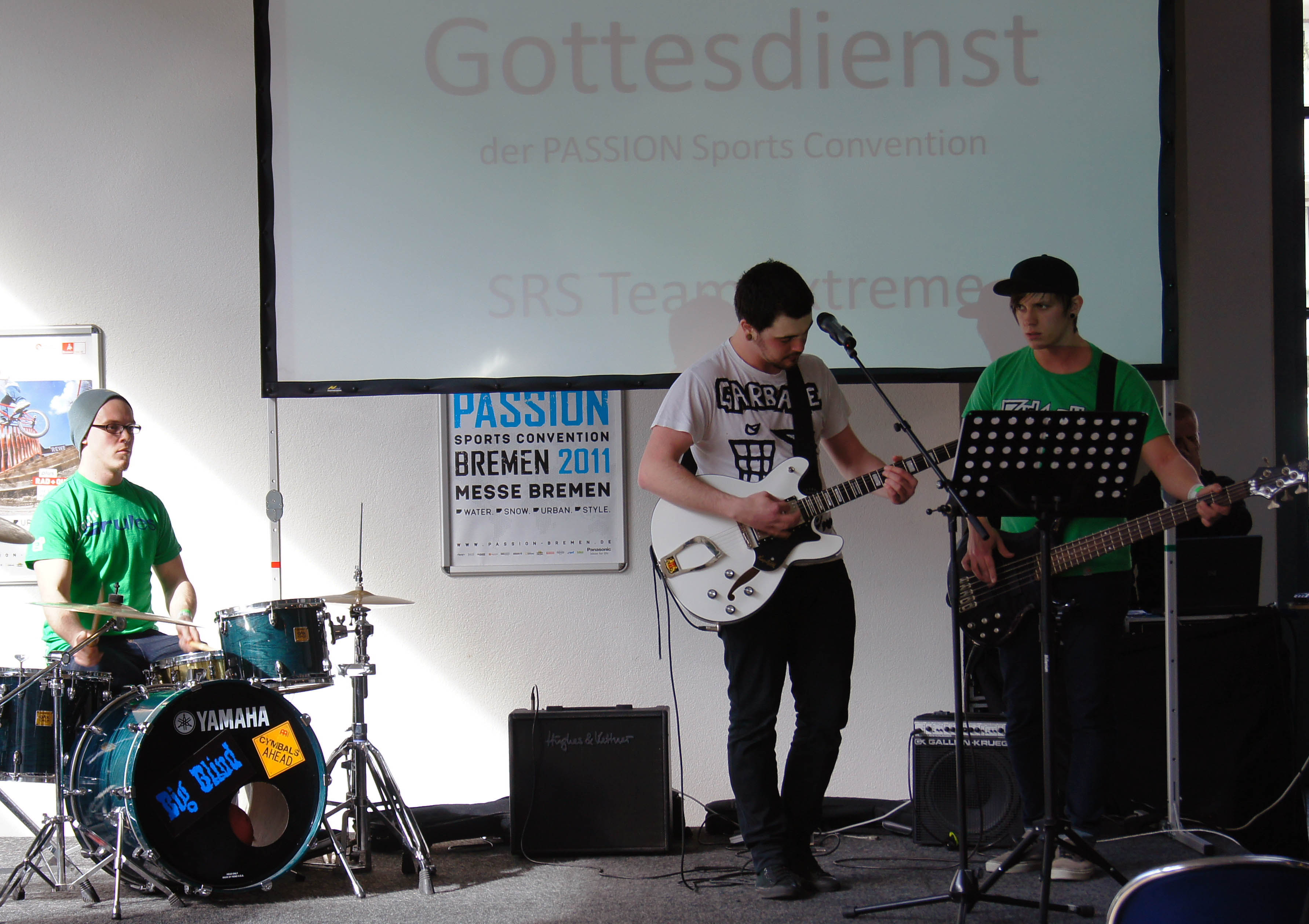 Gottesdienst Band. By Timo Mößner