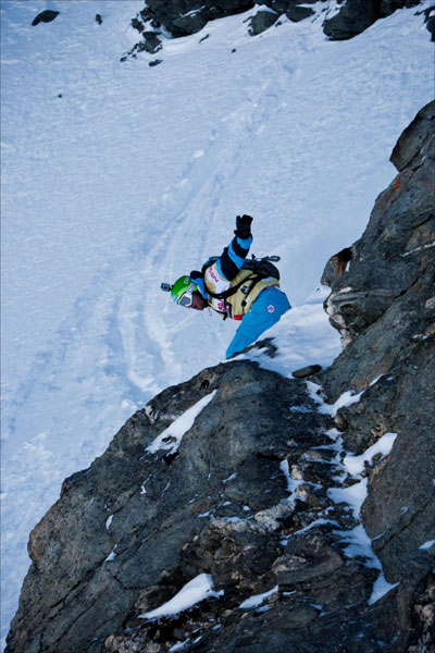 Freeride World Tour 2011: Xtreme Verbier.  Foto: D. Daher
