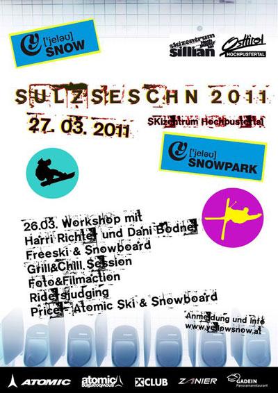 Flyer zum Sillian Sulzseschn 2011.  Foto: Veranstalter
