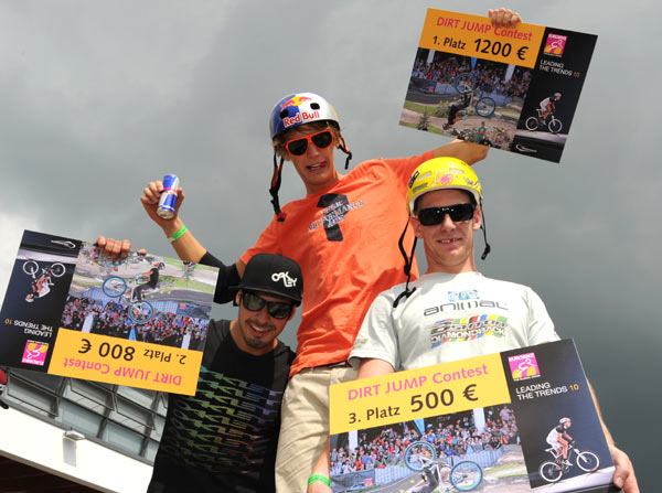 Dirtbikie Contestsiger 2010. By Eurobike