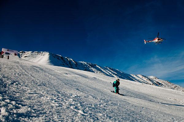 Nine Queens 2011 im  Skigebiet Serfaus, Fiss, Ladis.  Foto: Klaus Polzer