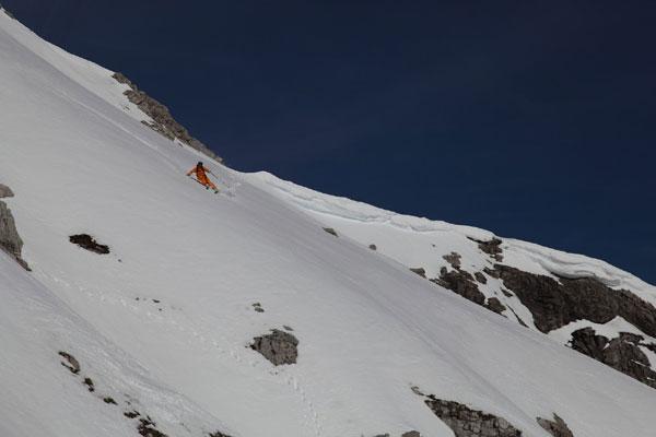 sechsten Line in der Hornbachkette.  Foto: Toni Brey