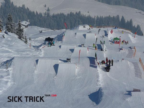 DC Snowpark Kitzbühel.  Foto: Martin Munter