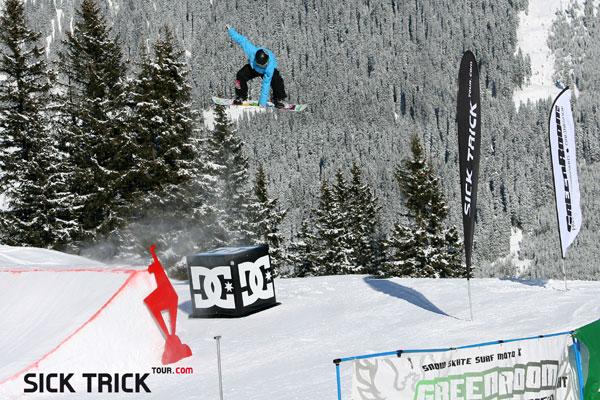 Sick Trick Snowboard Finale 2010.  Foto: Martin Munter