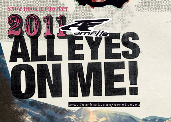Flyer: Arnette All Eyes On Me 2011.  Foto: Veranstalter