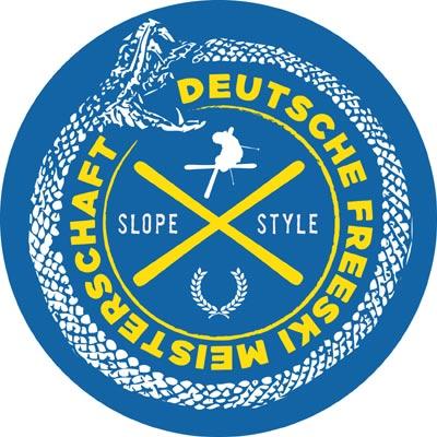 Logo der Deutschen Freeski Meisterschaften Foto: Veranstalter