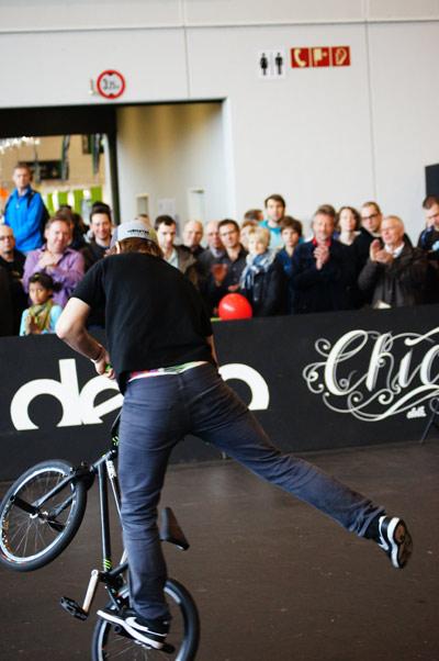 BMXer bei den Finals. Foto: Timo Mößner